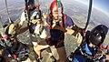 Skok na 5-osobową kroplę, spadochron SD-83, Gliwice 2017.08.05 (08).jpg