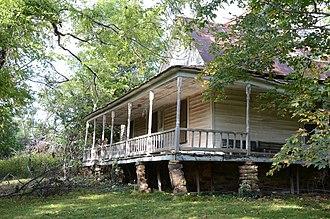 Uniontown, Arkansas - Slack-Comstock-Marshall Farm
