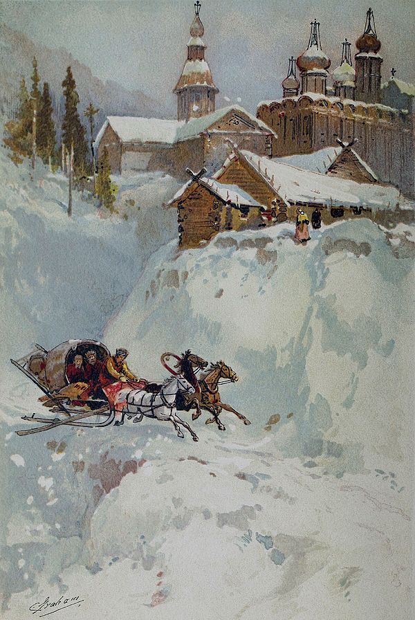 Sleigh Ride in Russia