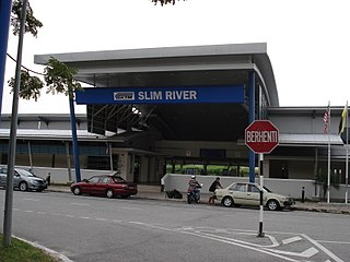 Slim River railway station