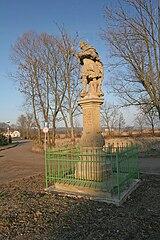 Sloup se sochou svatého Donáta
