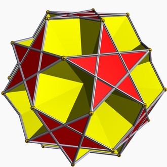 Dodecadodecahedron - Image: Small dodecahemicosahedron