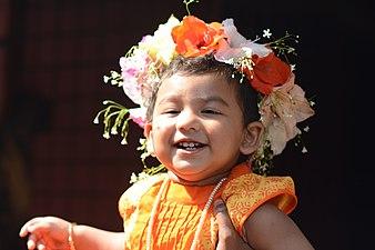 Smiling face of a Bangladeshi child.jpg