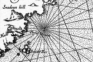 Agamenticus - Snadoun Hill in 1616