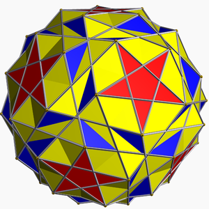 Uniform polyhedron - Uniform star polyhedron: Snub dodecadodecahedron