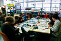 Solder workshop at FIXME Hackerspace, Renens, Lausanne (2015-05-23 06.26.14 by Mitch Altman).jpg