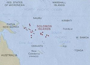 History of the Solomon Islands - The Solomon Islands in Oceania.