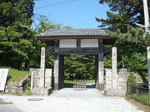 Sōma Nakamura Domain - surviving gate of Sōma Nakamura Castle