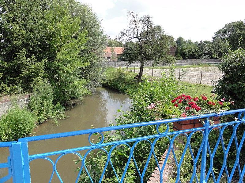 Sommaing (Nord, Fr) l'Écaillon.