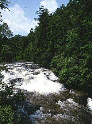 Soque River - Image: Soque river georgia