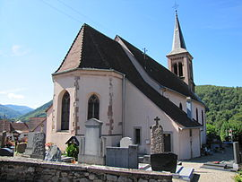 The church of Saint-Jean-Baptiste at Soultzbach-les-Bains