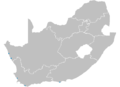 South Africa Provinces showing nuclear sites.PNG