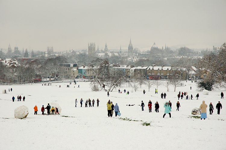 South Park Oxford snow