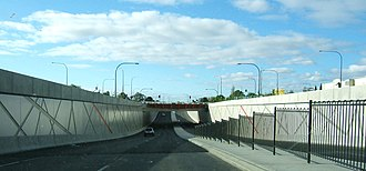 Anzac Highway, Adelaide - South Road Underpass beneath Anzac Highway