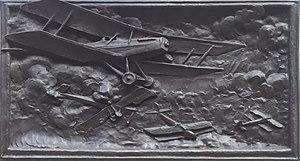 Philip Lindsey Clark - Image: Southwark War Memorial aircraft