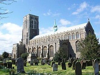 St Edmund's Church, Southwold - Image: Southwold Church of St Edmund