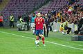Spain - Chile - 10-09-2013 - Geneva - Andres Iniesta 6.jpg