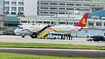Sparkle Roll Jet Embraer 190-100 B-3219 Parked at Taipei Songshan Airport Apron 20161124.jpg