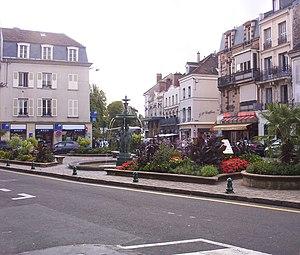 Fontainebleau - Town centre