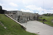 St. David's Battery (or the Examination Battery), Rear view, St. David's, Bermuda in 2011