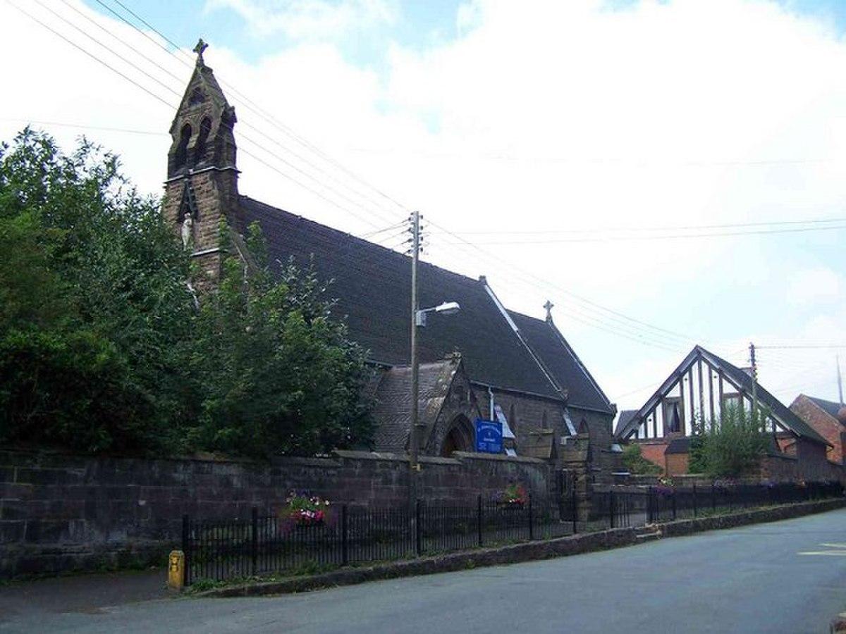 St. Filumena's Roman Catholic Church, Caverswall - geograph.org.uk - 534259.jpg