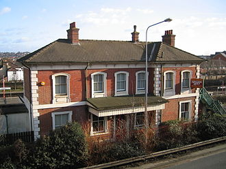 St Denys railway station - St Denys station building (now in private ownership)