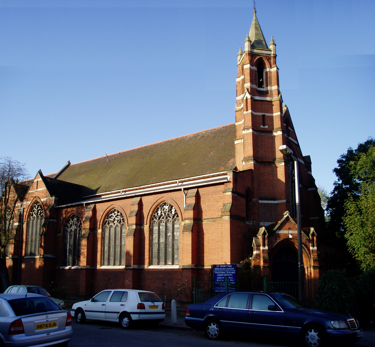 St Benet Fink Church, Tottenham - Wikipedia