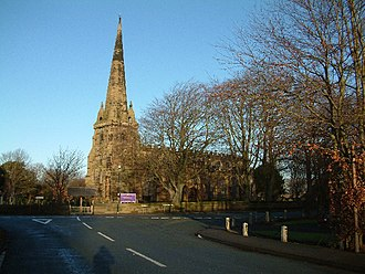 Molyneux - St. Helen's Church was built as the Molyneux family chapel in Sefton Merseyside in 1170.