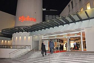 St. John's Shopping Centre - Image: St Johns Shopping Centre Houghton Street entrance