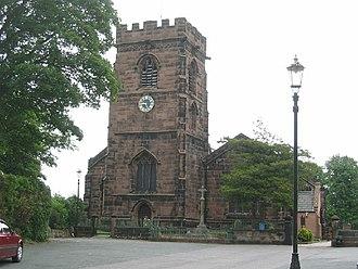 Weaverham - Image: St Mary's Church, Weaverham