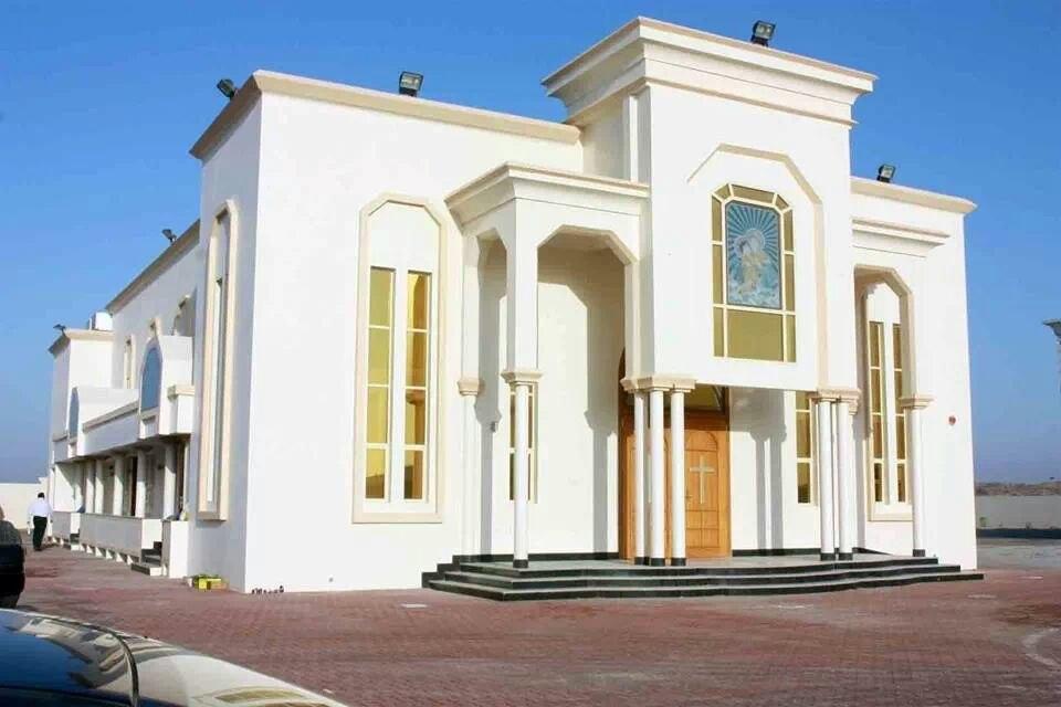 St Mary's Indian Orthodox Church Ras al khaimah UAE