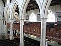 St Mary's church, Wimbledon, galleries - geograph.org.uk - 1941165.jpg