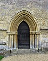 St Mary, Great Milton, Oxon - Doorway - geograph.org.uk - 1634709.jpg