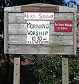 St Mary and All Saints notice board - geograph.org.uk - 240069.jpg