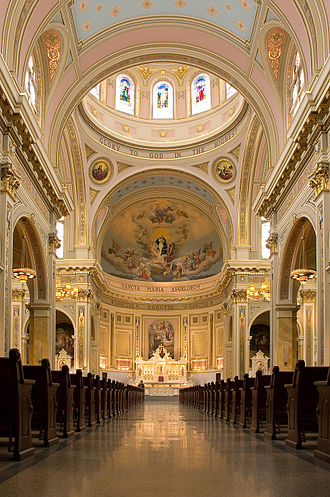 Opus Dei - St. Mary of the Angels' Church in Chicago is run by the clergy of Opus Dei