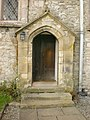 St Peter's Church, Heversham, Doorway - geograph.org.uk - 1246714.jpg