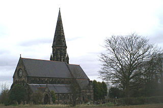 St Peters Church, Oughtrington Church in Cheshire, England