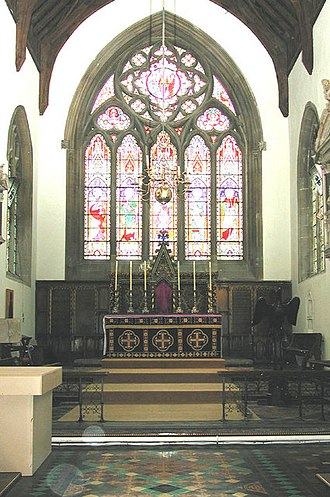 Church of St Peter and St Paul, Wantage - Image: St Peter and St Paul, Wantage, Berks Chancel geograph.org.uk 331037