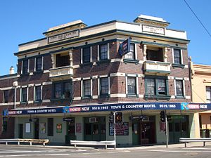 St Peters, New South Wales - Image: St Peters pub
