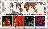 Stamp 100 Jahre Bernhard-Nocht-Institut für Tropenmedizin.jpg