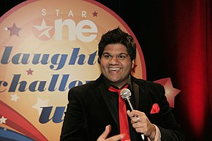 Mani Liaqat - Mani at the Laughter Challenge on Star One.