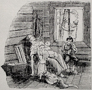 Starvation image from Fäderneslandet 1867