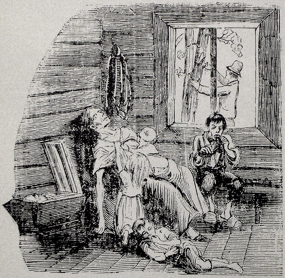 Starvation image from F%C3%A4derneslandet 1867