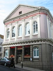 States Building in St Helier Jersey
