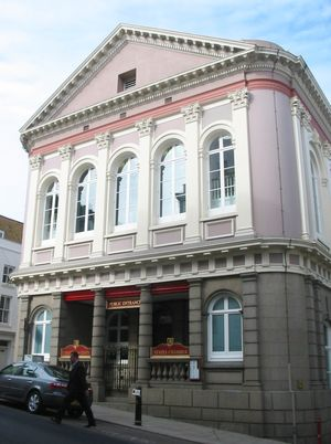 Jersey - The States building in St. Helier
