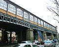 Station La Chapelle Ligne 2 - La gare aerienne 26-03-05.jpg
