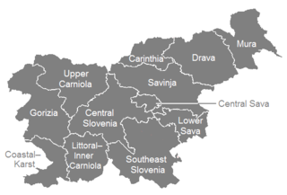 Statistical regions of Slovenia administrative territorial entity of Slovenia