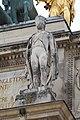 Statue Chasseur Cheval Arc Triomphe Carrousel façade est Paris 1.jpg