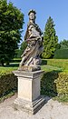 Statue by Venetian fountain, Lednice, Czech Republic 13.jpg