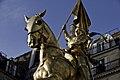 Statue of Jeanne d'Arc, Rue de Rivoli 2010.jpg
